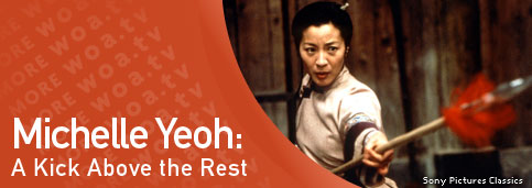 Michelle Yeoh: A Kick Above the Rest