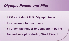 Olympic Fencer and Pilot