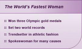 The World's Fastest Woman