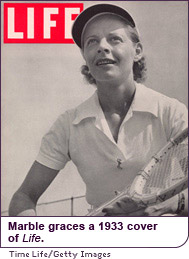 MArble graces a 1933 cover of Life.