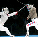 ON THE MOVE :: Women's Sabre is Scoring Points