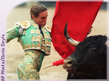 bullfighter, from A P Images database