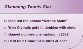 Slamming Tennis Star