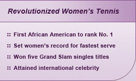 Revolutionized Women's Tennis