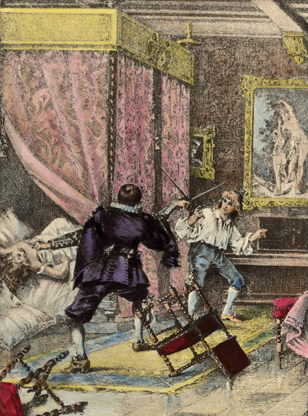 La Maupin dueling an outraged husband