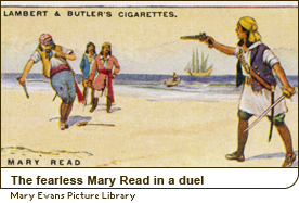 The fearless Mary Read in a duel