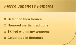 Fierce Japanese Females