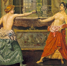 FACT OR FICTION :: Did Women Duel Topless?